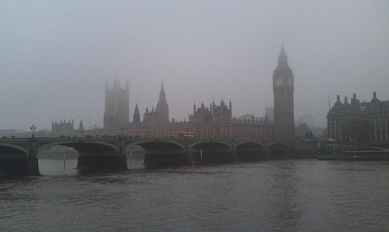 Westminster fog - London - UK1